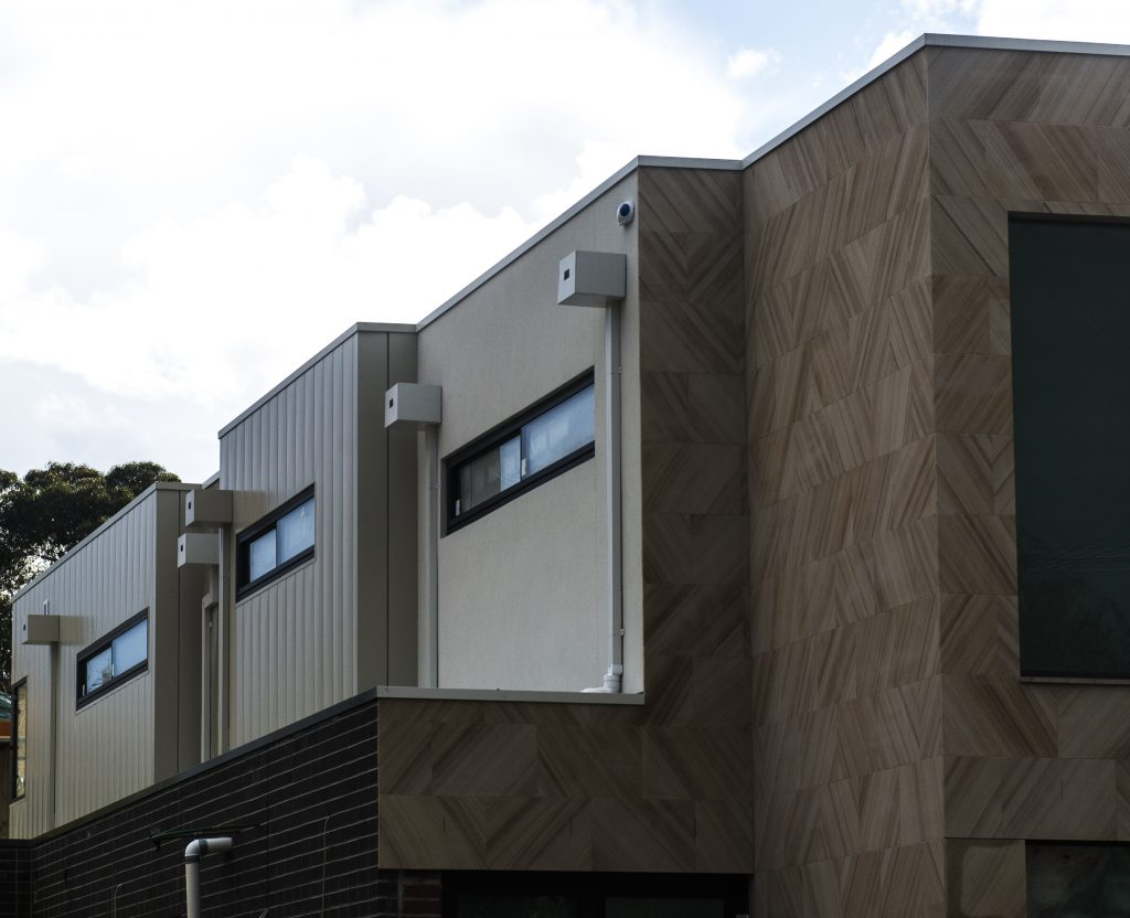 , Interlocking Metal Cladding Hits The Mark For This Residential Project