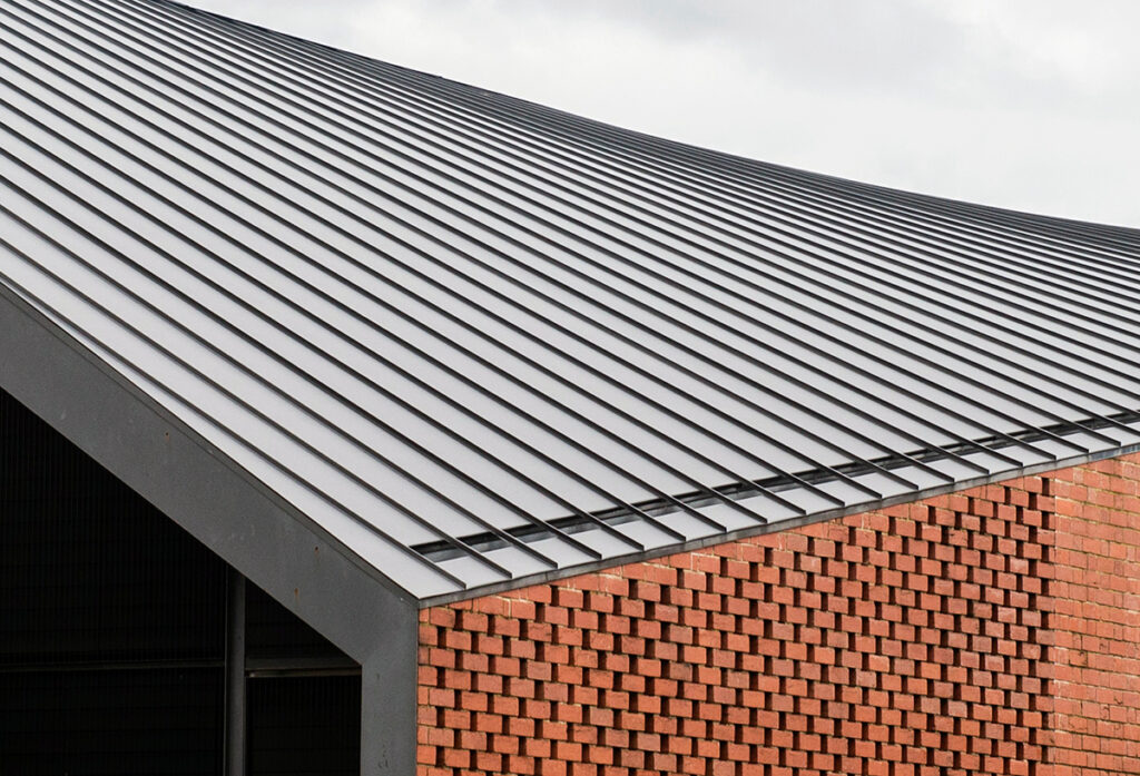 , Standing Seam Metal Cladding And Roofing Provides A Breathtaking Finish